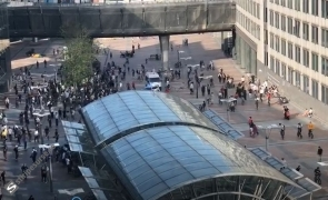 protest parlamentul european