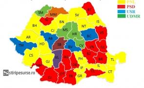 harta primarii