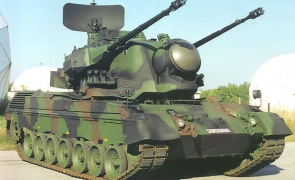 gepard anti-air defence