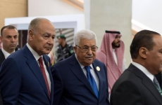 Mahmoud Abbas şi Ahmed Aboul Gheit