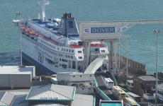 Dover port harbour