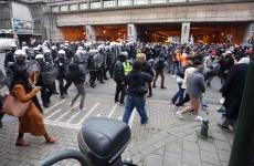 proteste Belgia