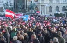 Viena, protest, austria