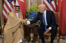 Donald Trump și regele Bahrainului