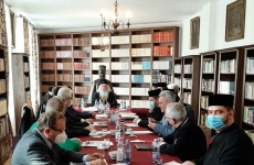 Consiliul eparhial la Arad Mitropolitul Ioan