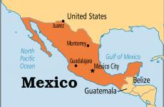Mexic map harta