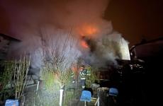 incendiu casa Bucuresti