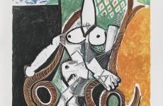 Nud pe fotoliu - Pablo Picasso