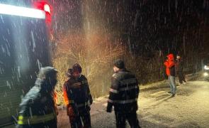 Hunedoara, interventie, pompieri