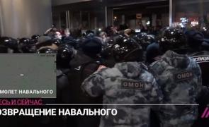 rusia, revenirea lui Navalnîi