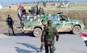 soldati sirieni platoul golan