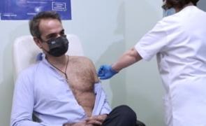 Premier Grecia, vaccinare