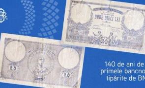 prima bancnotă tipărită de BNR
