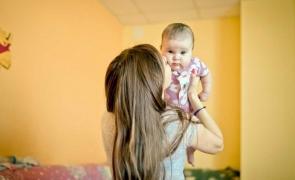campanie umanitară, copil, mamă