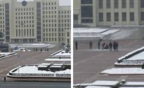 Belarus bărbat foc guvern