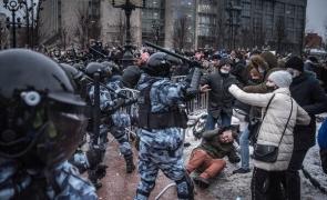rusia protest