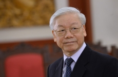 Nguyen Phu Trong liderul Partidului Comunist Vietnam