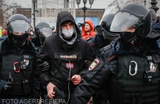 Rusia proteste arestări