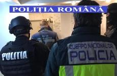 perchezitii politisti romania spania