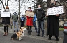 protest ambasada rusia