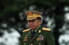 Generalul Min Aung Hlaing Myanmar