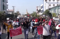 proteste Myanmar
