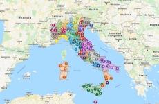 Harta parohiilor, Episcopia Italiei