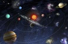 sistemul solar spatiu univers planete