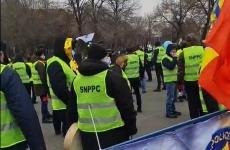 sindicaliști poliție proteste
