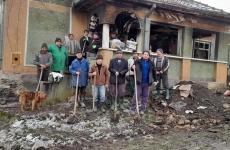 casă mistuită de flăcări Maramureș donații