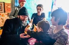 Părintele Damaschin acțiuni filantropice