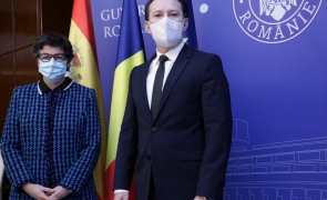 Florin Citu, ministru de externe spania Arancha Gonzalez Laya