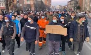 protest mineri