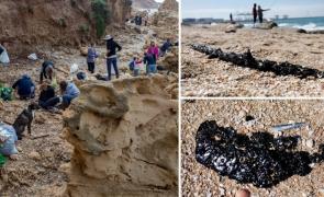 Israel plaje dezastru ecologic