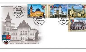 Romfilatelia Catedrala din Buzău