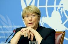 Michelle Bachelet Înalt comisar al ONU pentru drepturile omului