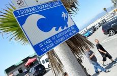 avertisment tsunami