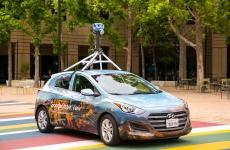 mașină Google Street View