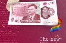 lira sterlina alan turing bancnota