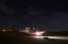 elicopter transport vaccinuri accident Uruguay