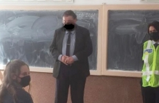 masca profesor