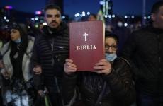 Inquam Biblia protest masca