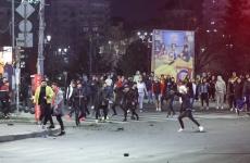 proteste violente jandarmi politie