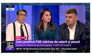 Marcel Ciolacu Digi24 Cosmin Prelipceanu