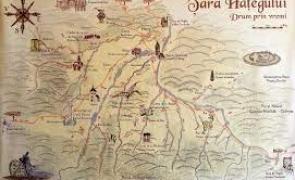 harta dinozauri țara hațegului