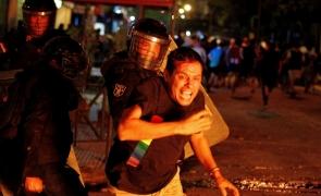 Paraguay, Argentina proteste