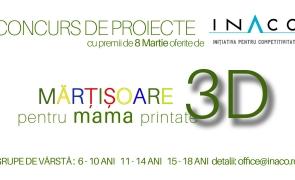 mărțișoare 3d INACO