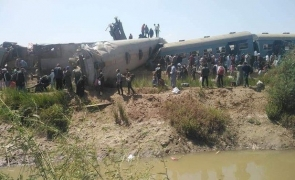 trenuri accident Egipt