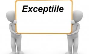 exceptii