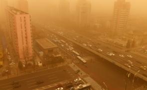 Furtună de nisip China